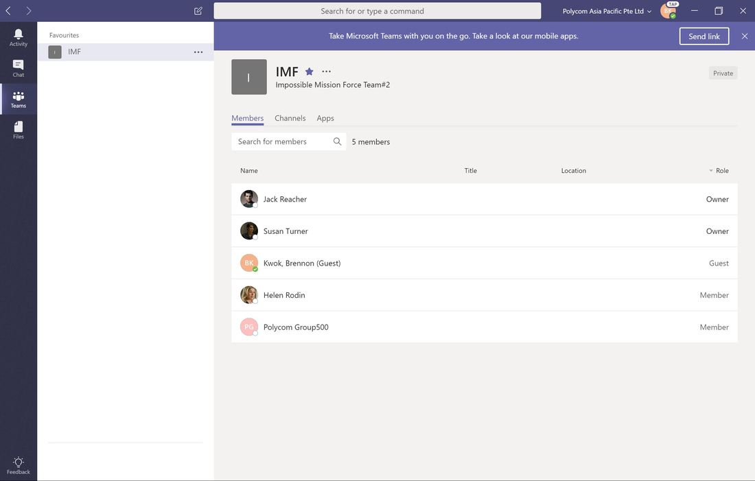 Implementing Microsoft Teams External Access